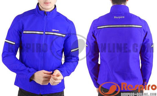 Review Jaket Respiro TOURAGE Blue Adytia Hastungkoro