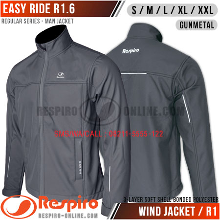 Jaket-Respiro-EASY-RIDE-Gunmetal