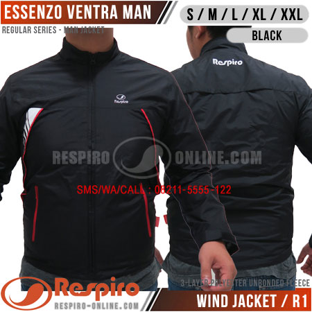 Jaket-Respiro-ESSENZO-VENTRA-MAN-Black