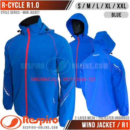Jaket-Respiro-R-CYCLE-Blue
