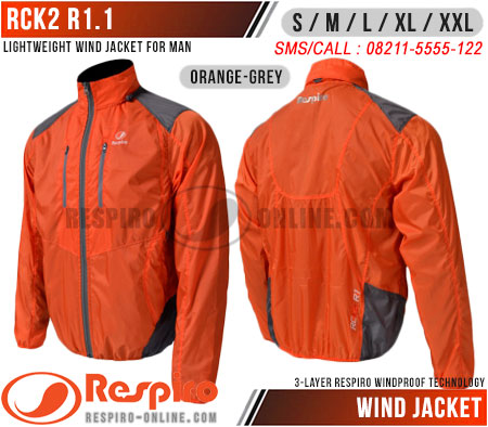 Jaket-Respiro-RCK2-R1.1-Orange-Grey