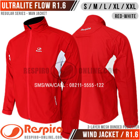 Jaket-Respiro-ULTRALITE-FLOW-R1-Red-White