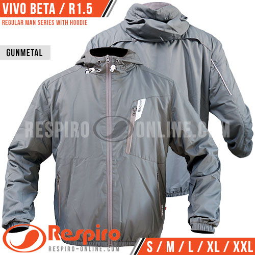 Jaket-Respiro-VIVO-BETA-Man-Gunmetal