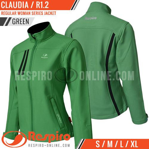Jaket-Wanita-Respiro-CLAUDIA-Green