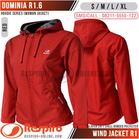 Jaket-Wanita-Respiro-DOMINIA-R1-Red