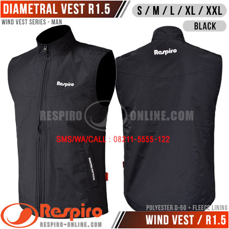 Rompi-Respiro-DIAMETRAL-VEST-Black