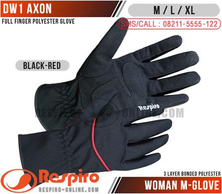 Sarung-Tangan-Wanita-DW-1-AXON-Black-Red
