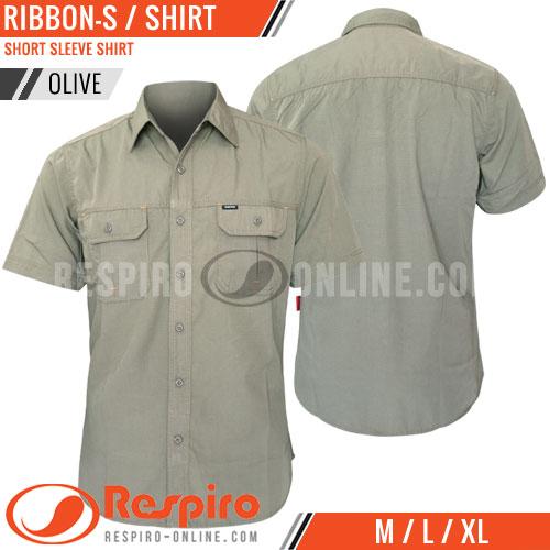 Shirt-Lengan-Pendek-Respiro-RIBBON-S-Olive