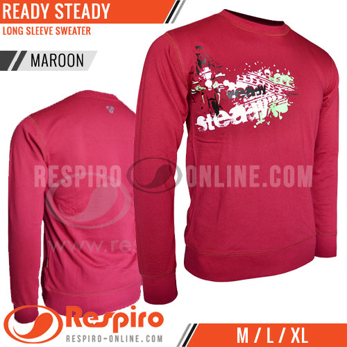 Sweater-Respiro-READY-STEADY-Maroon