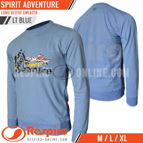 Sweater-Respiro-SPIRIT-ADVENTURE-Light-Blue